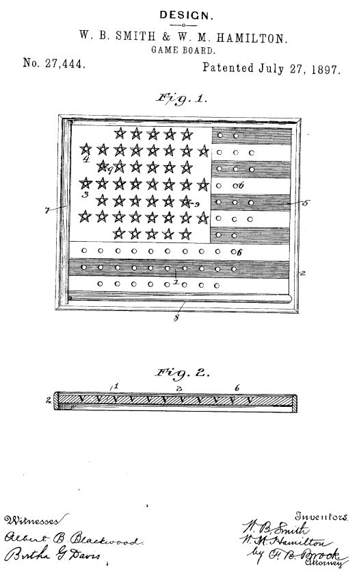 USD27,444 | Design for a Game-Board | Circa 1897