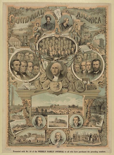 Centennial America | Circa 1876