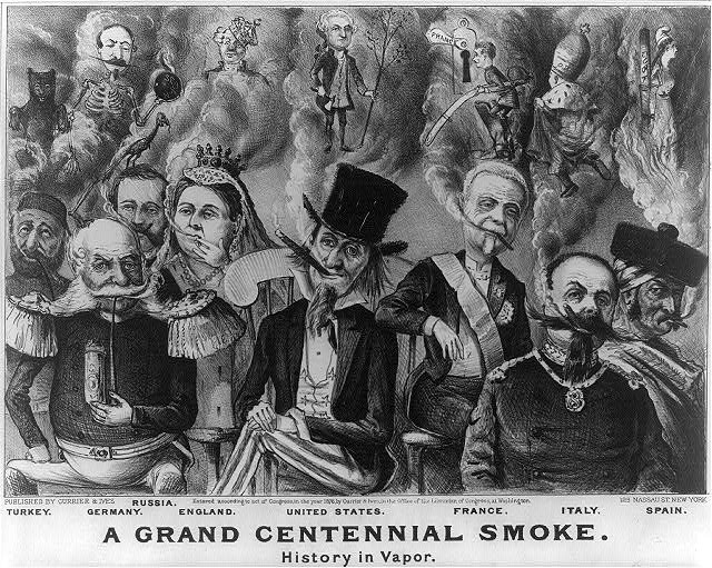 Grand Centennial Smoke | History in Vapor | Circa 1876