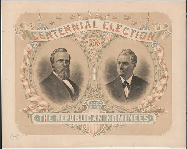 The Republican Nominees for the Centennial Election | Circa 1876