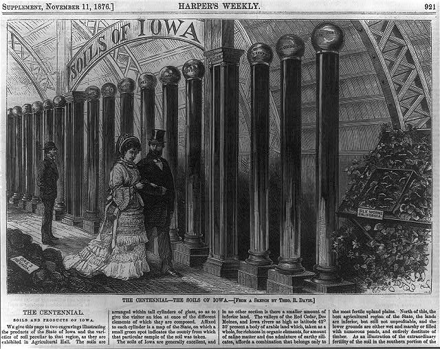 The Soils of Iowa at the Centennial | Circa 1876