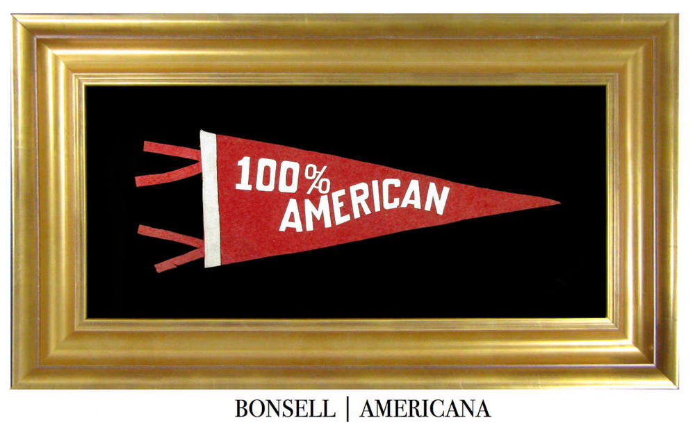 Antique 100% American Pennant.jpg