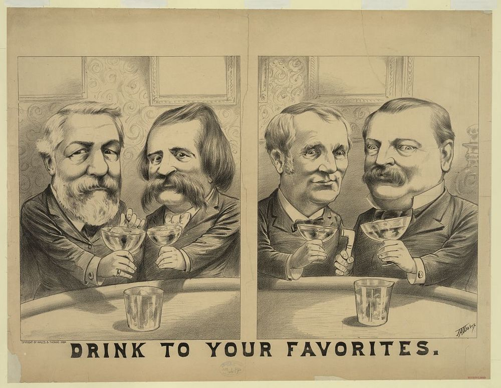 Drink to Your Favorites | Circa 1884
