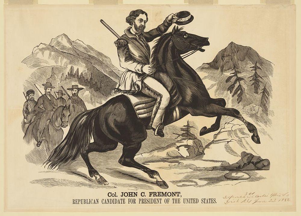 Fremont for President | Circa 1856