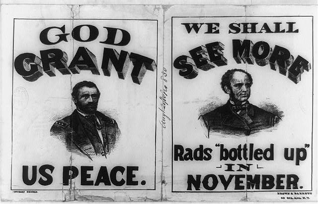 God Grant Us Peace and We Shall See More Rads Bottled Up in November | Circa 1868