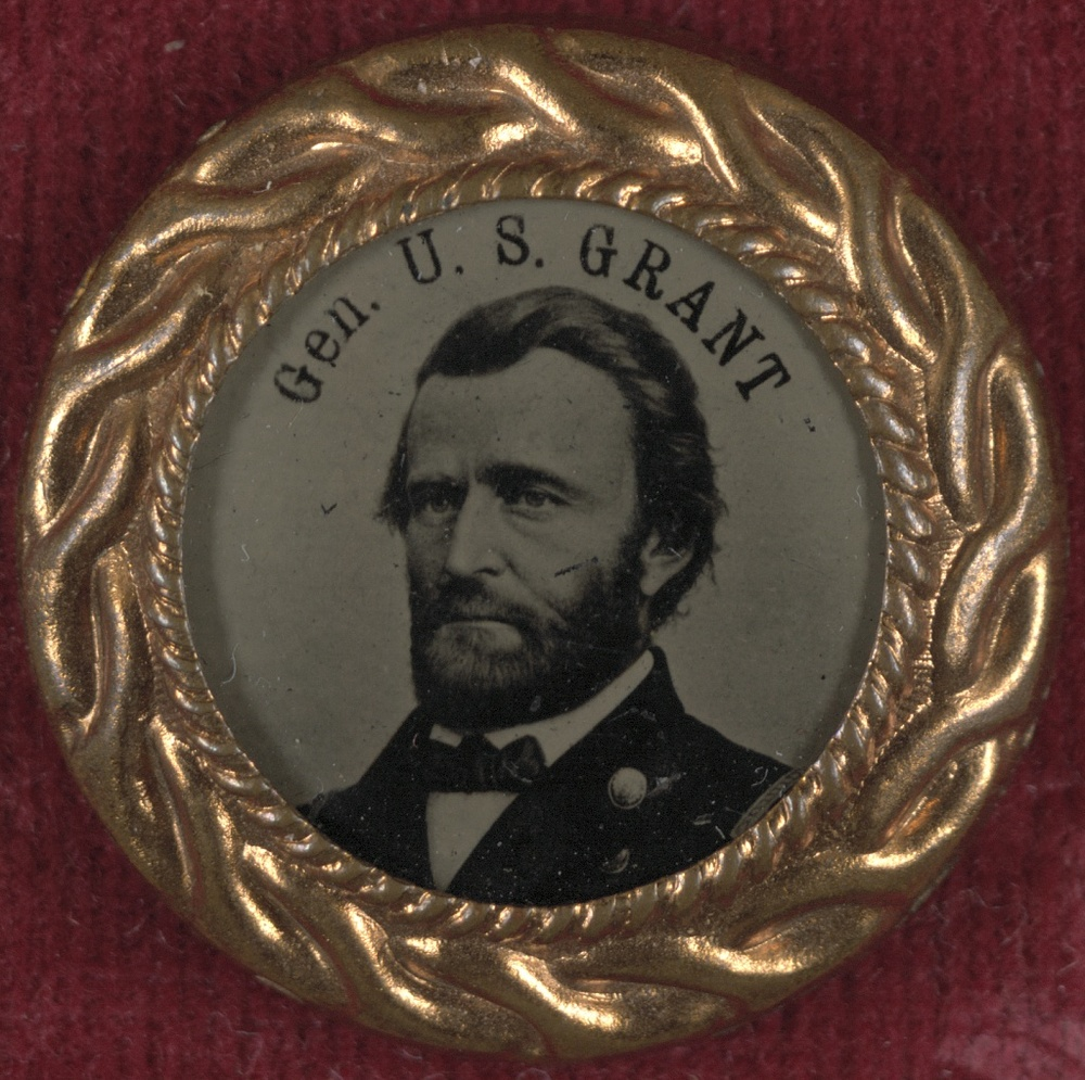 General Grant Campaign Button | Circa 1868