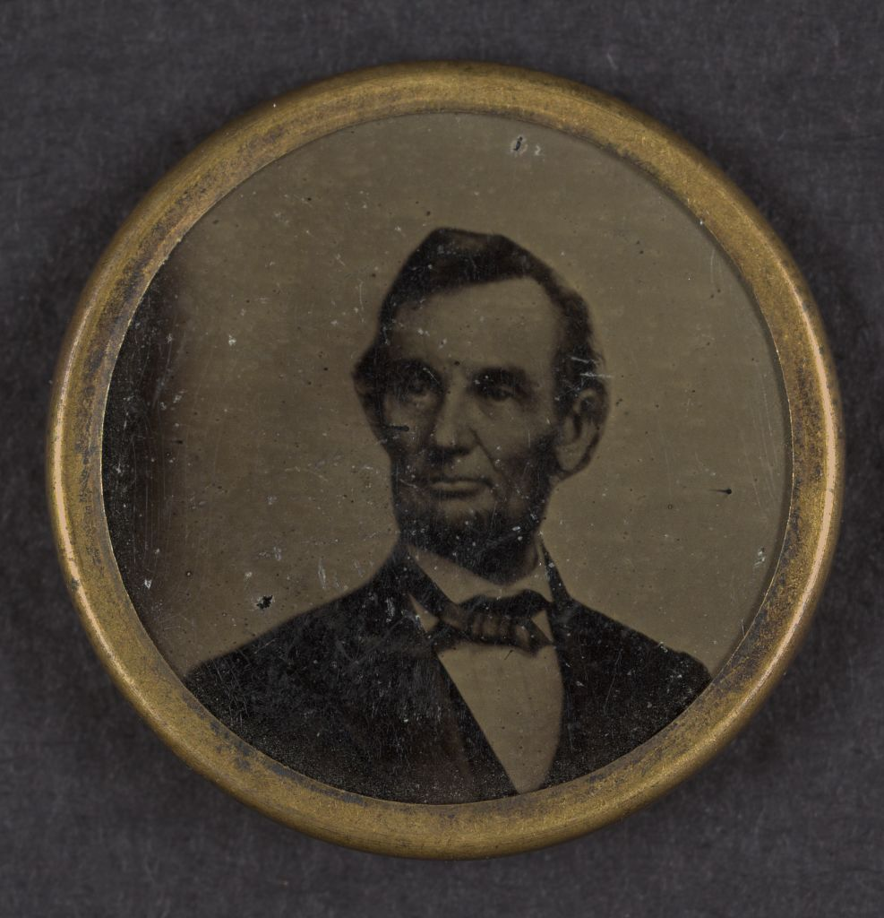 Lincoln Campaign Button | Circa 1864