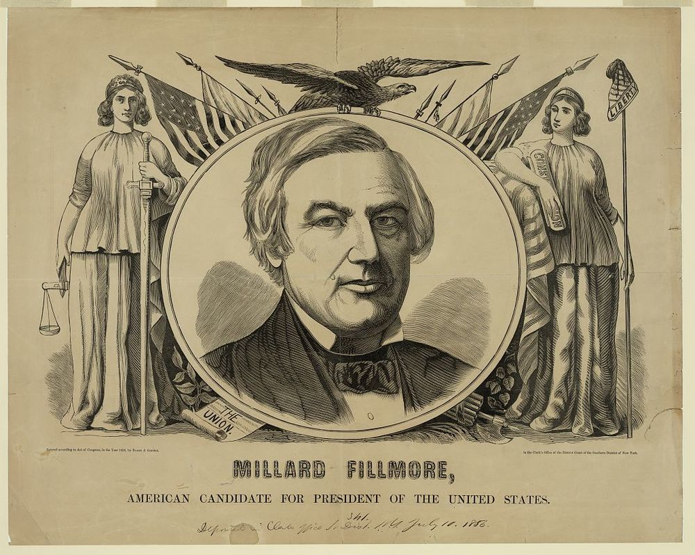 Millard Fillmore for President | Circa 1856