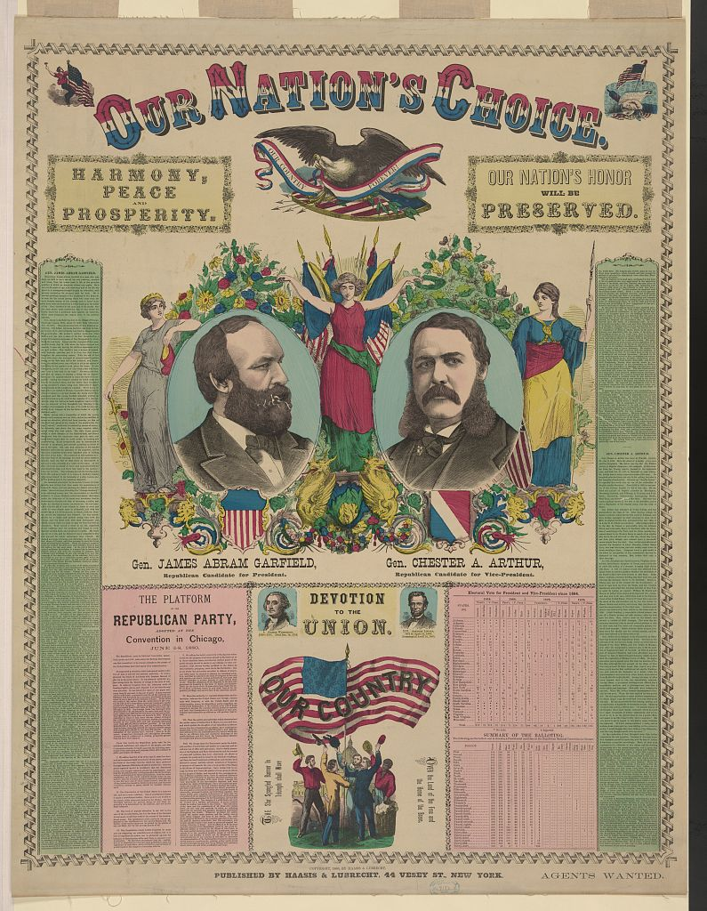 Our Nation's Choice | Circa 1880