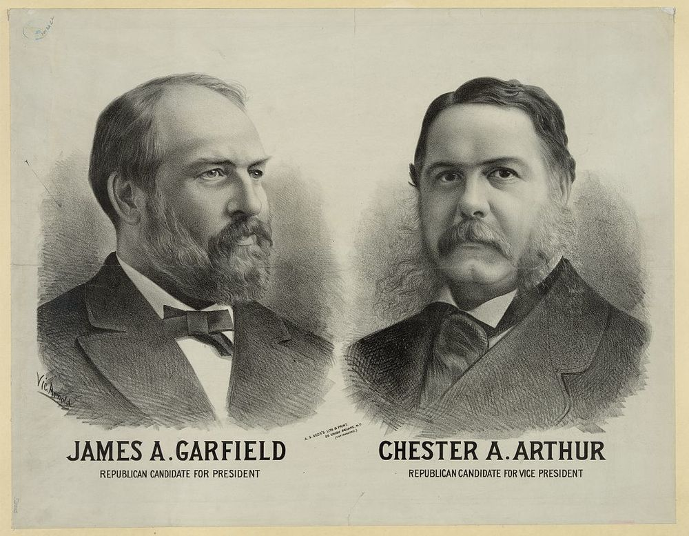Republican Candidates for President | Circa 1880