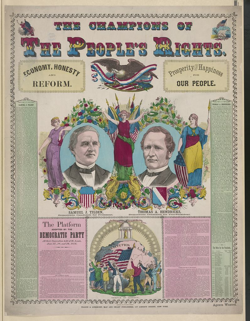 The Champions of People's Rights | Circa 1876