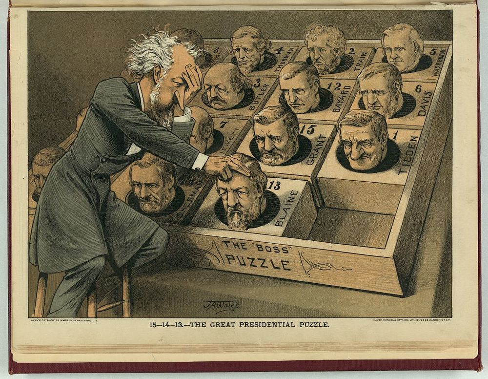 The Great Presidential Puzzle | Circa 1880