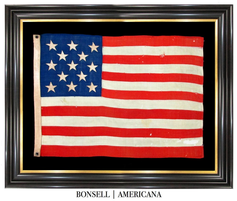 Coming Soon: 13 Star Antique Flag with Rare R.H. Macy Stamp