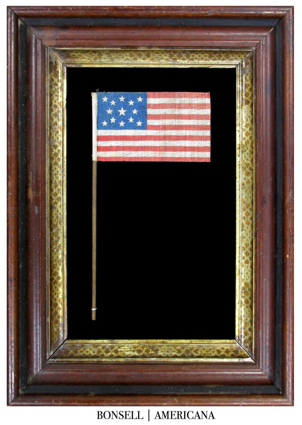 13 Star Antique Parade Flag