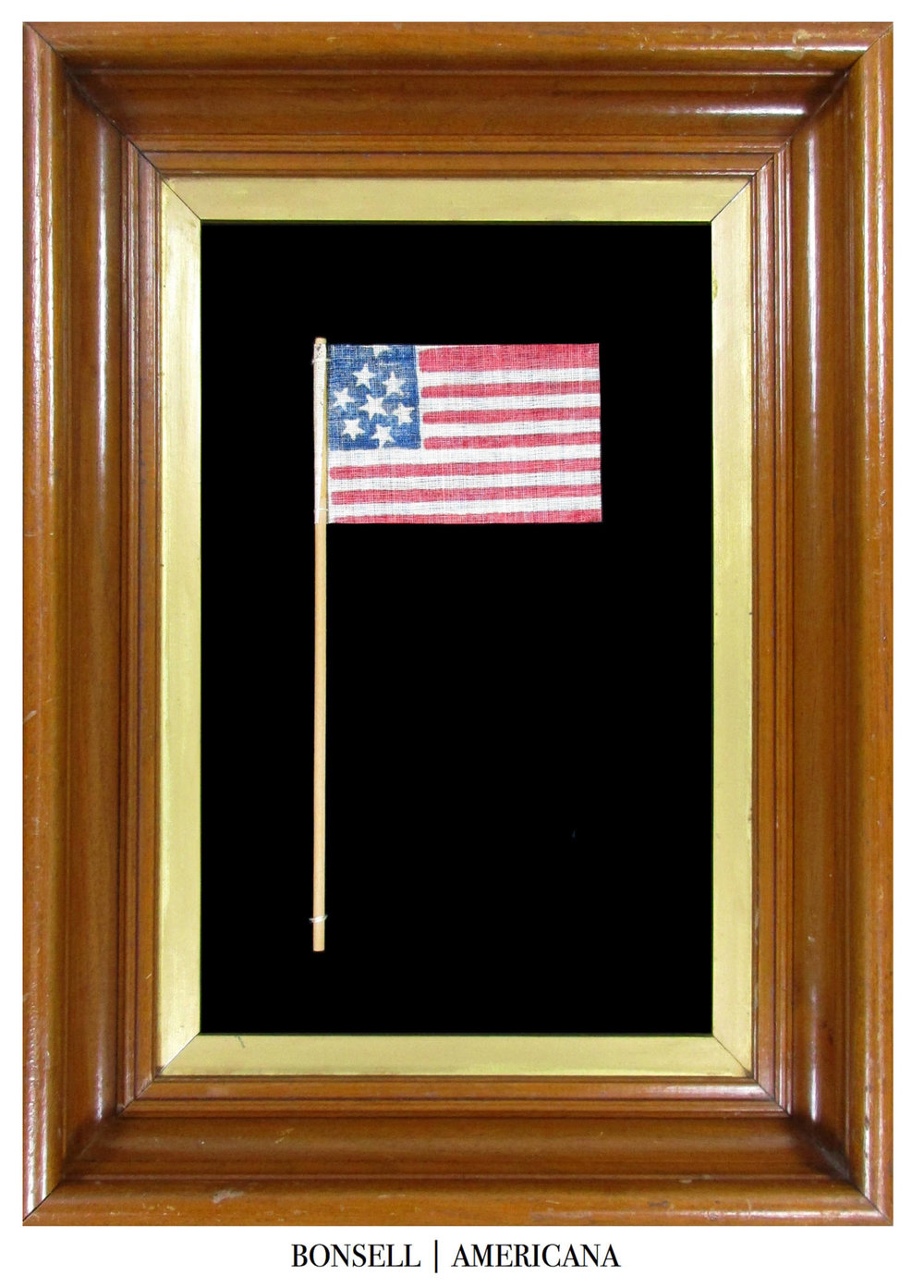 7 Star Antique US Parade Flag