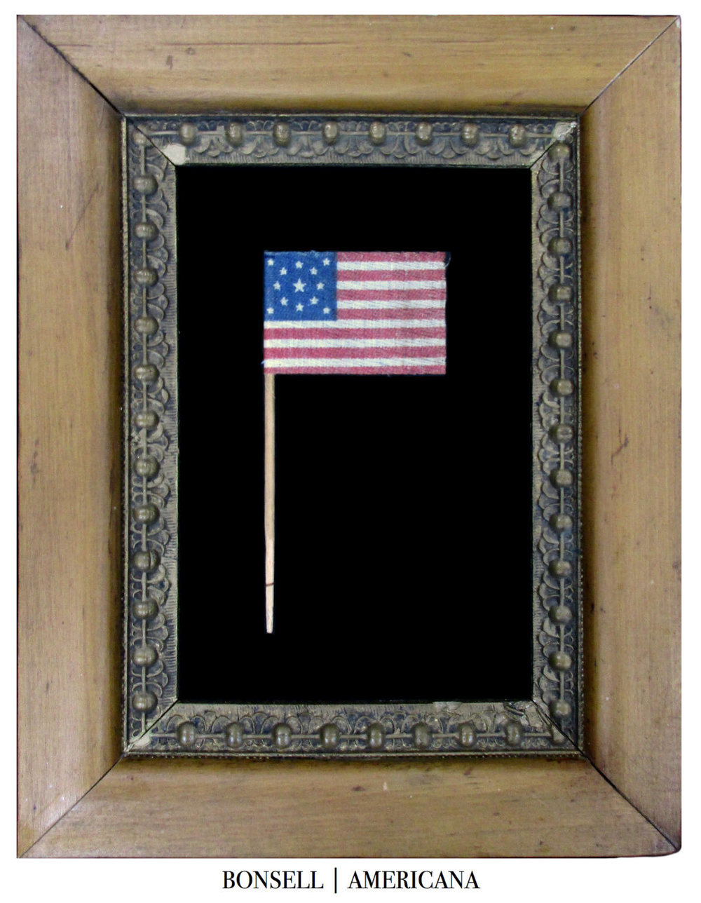 13 Star Antique US Centennial Parade Flag