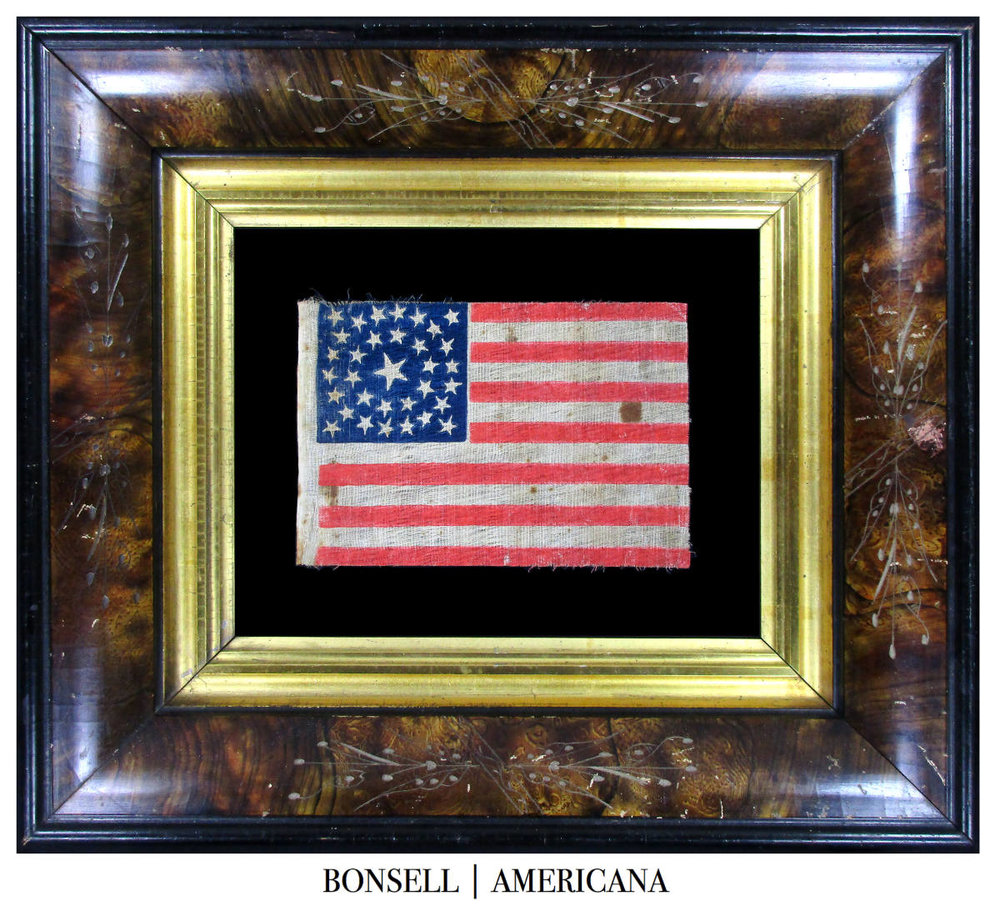 33 Star Antique US Flag