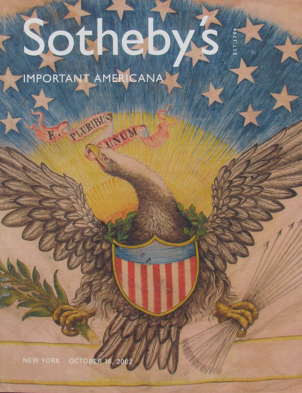 Sotheby's Important Americana Catalog - The Mastai Collection of American Flags and Related Patriotic and Political Memorabilia