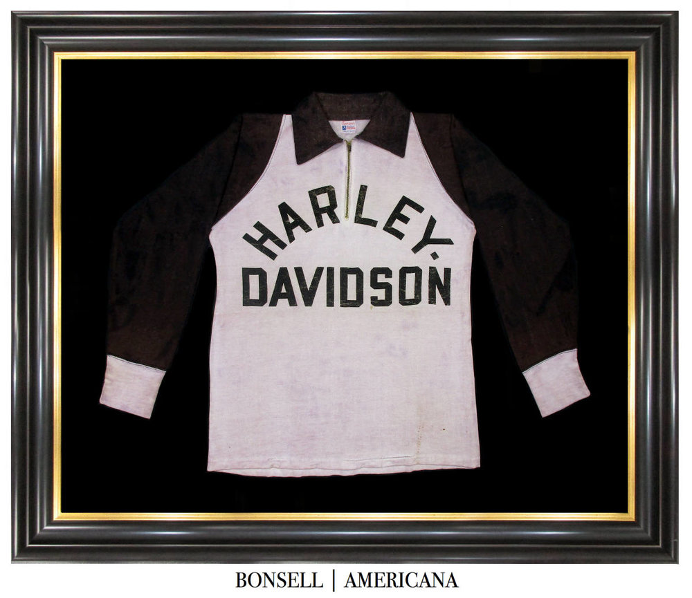Antique Harley Davidson Racing Jersey