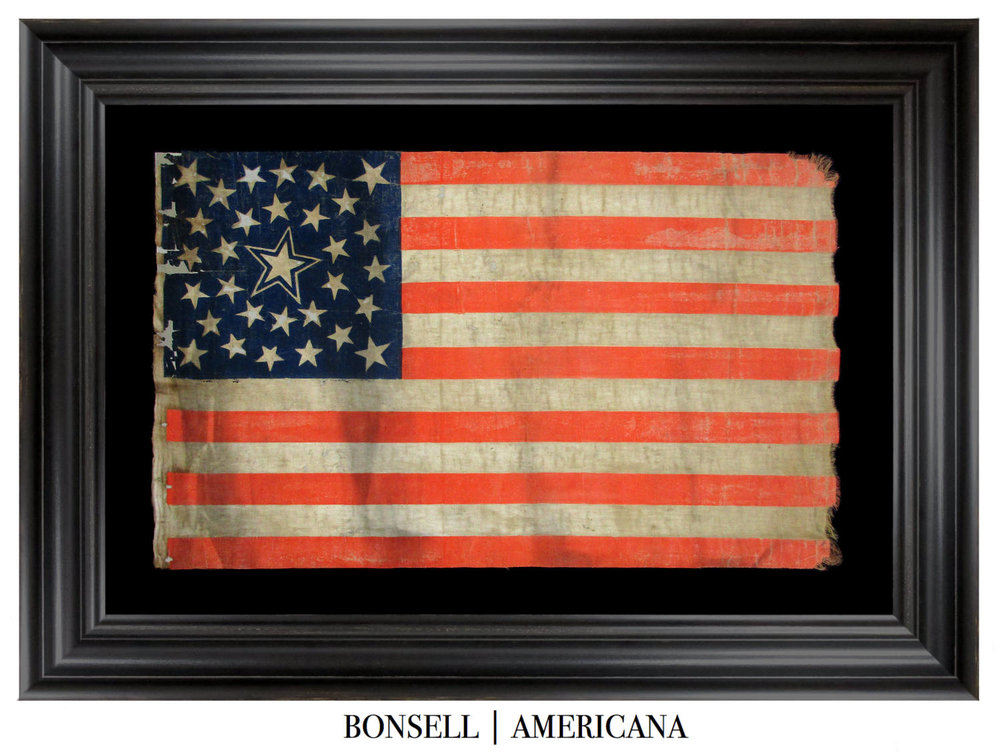 31 Star Antique Flag