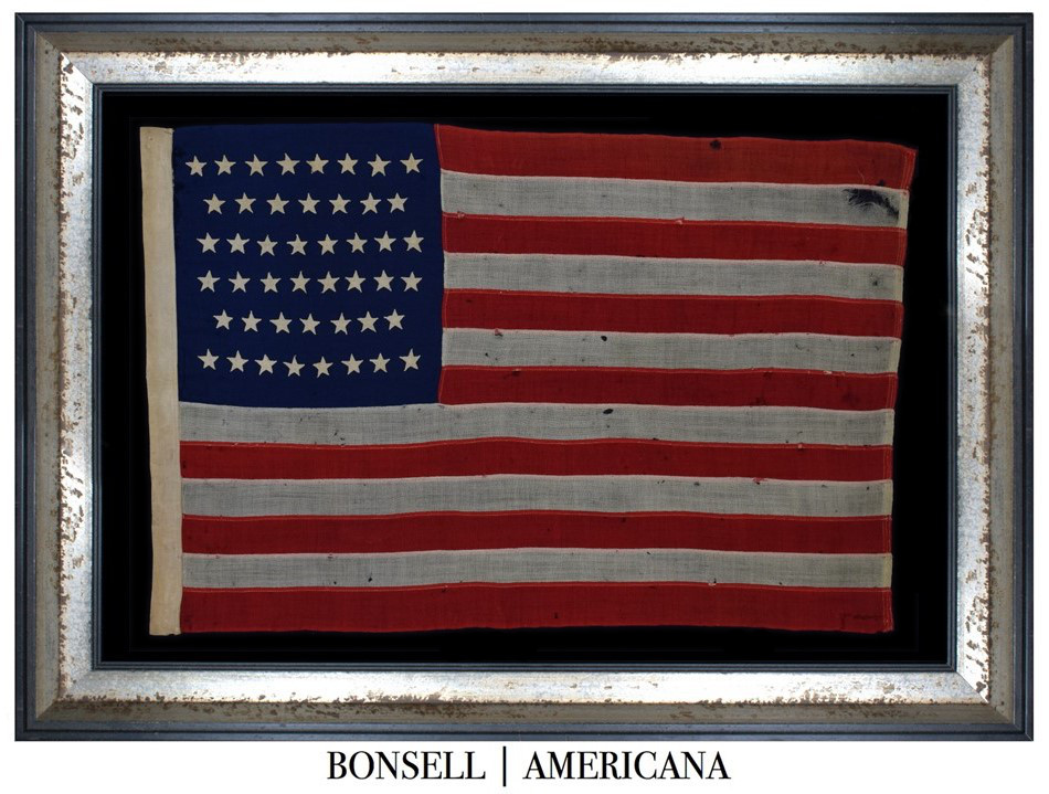 46 Star Antique US Flag