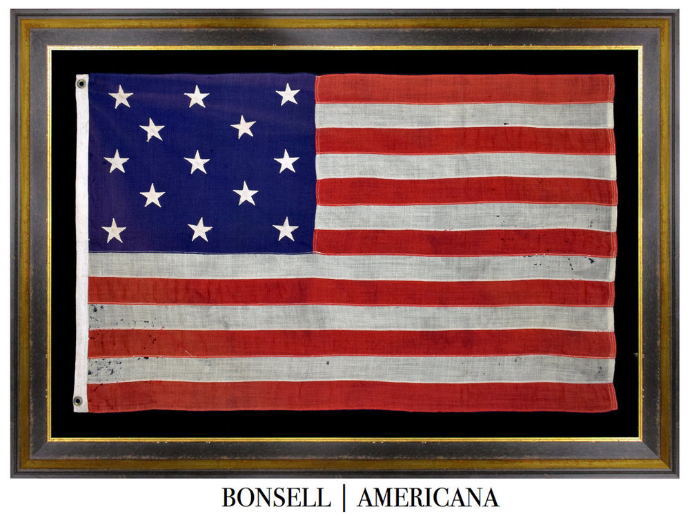 13 Star Antique American Flag