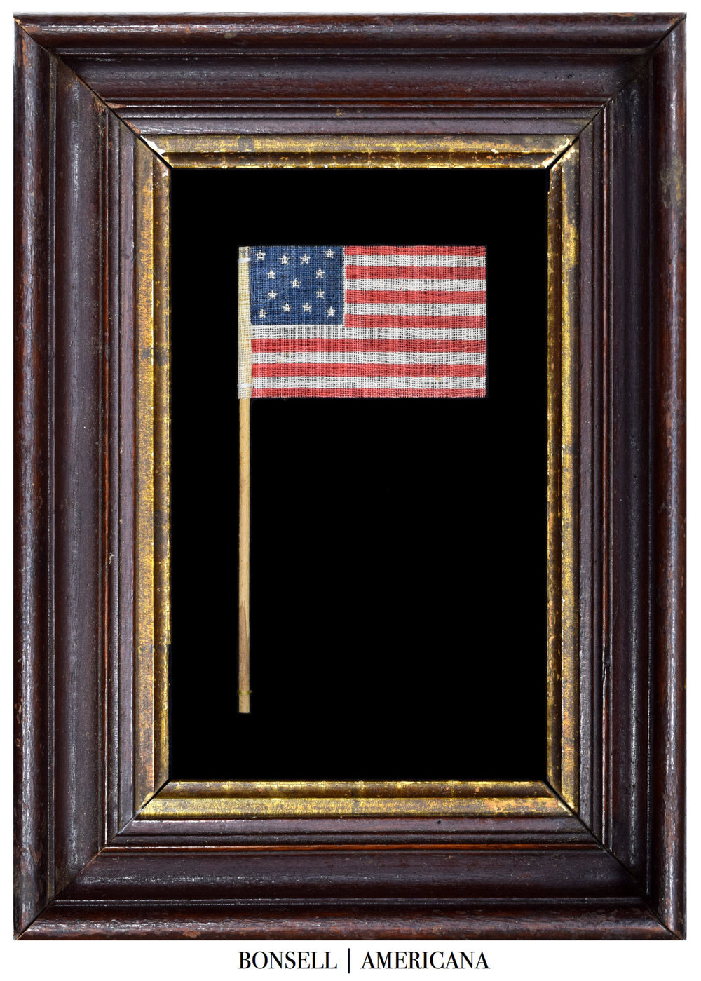 13 Star Antique Parade Flag