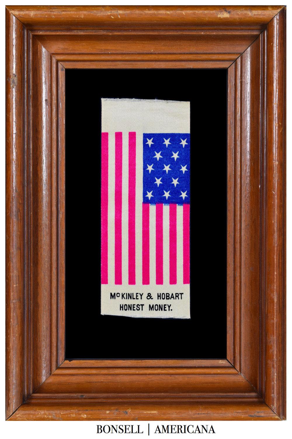 McKinley & Hobert Honest Money Flag Ribbon