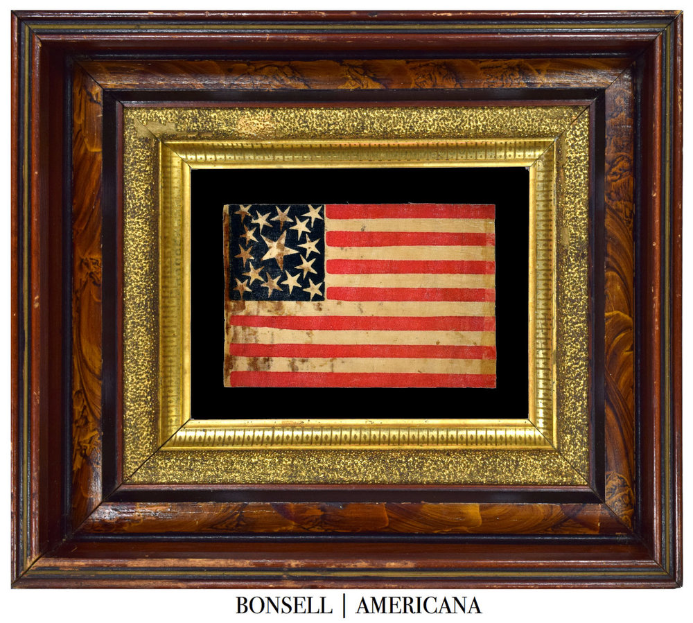 15 Star Antique Flag