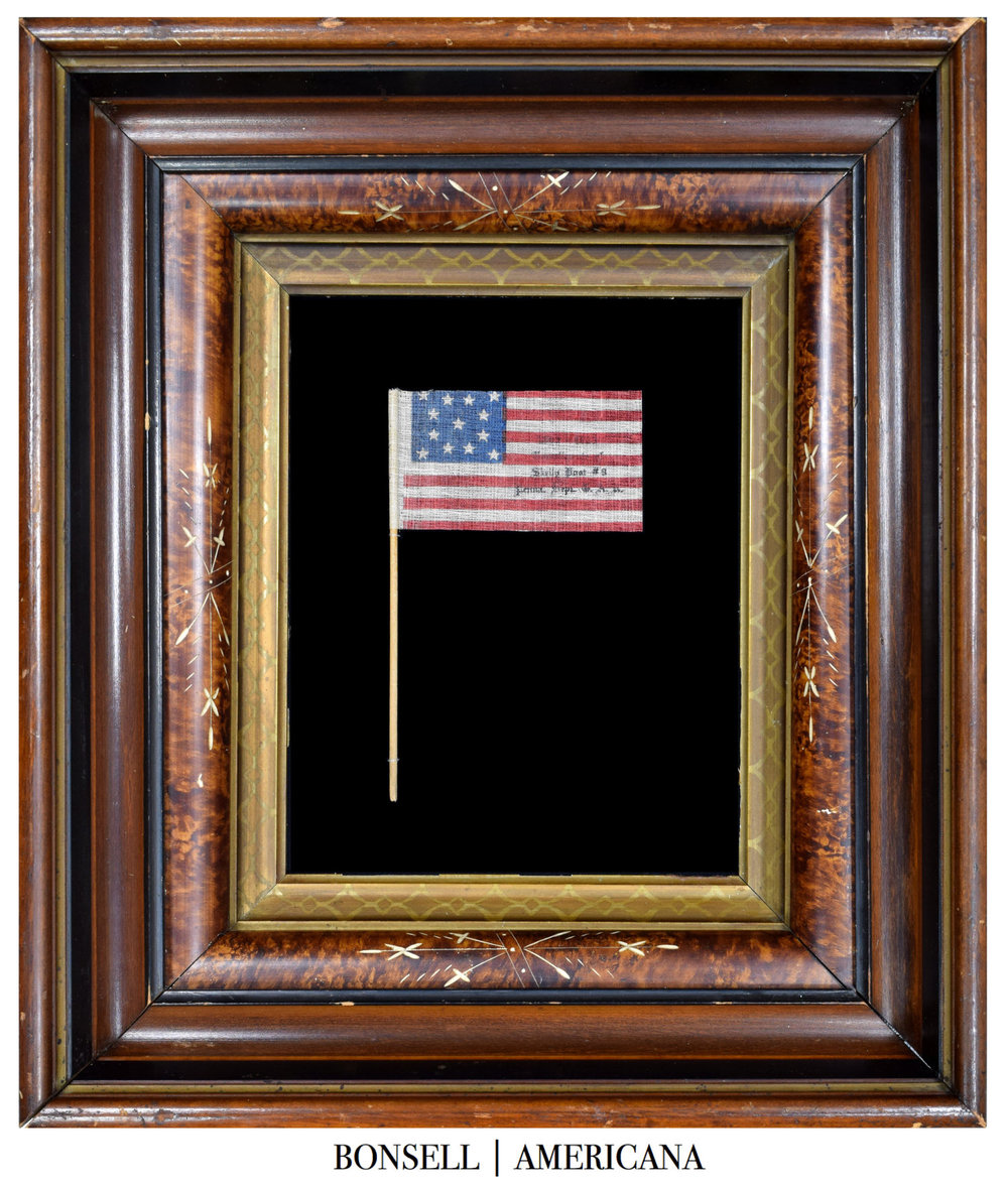 13 Star Antique Parade Flag | 50th Anniversary of the Battle of Gettysburg
