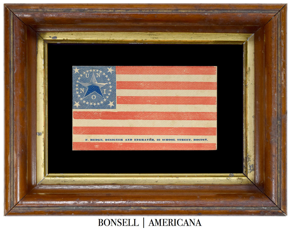 34 Star Antique Flag Cover