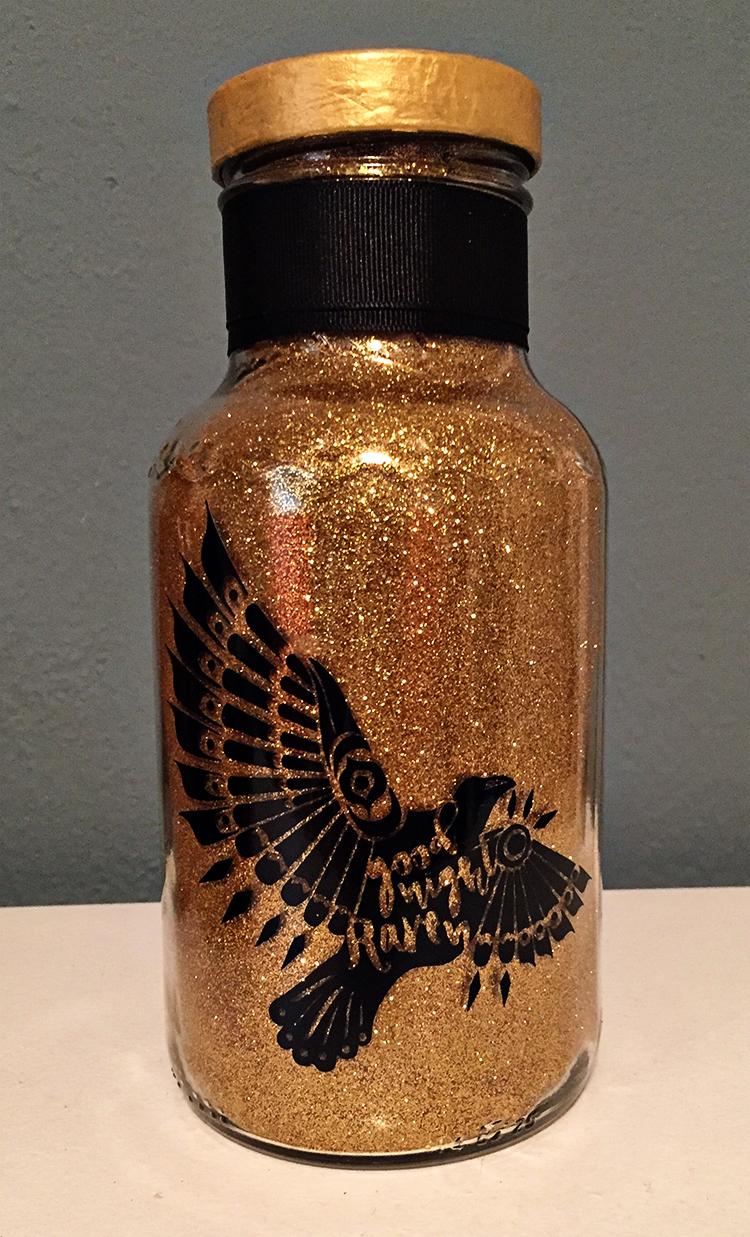 DIY Glitter Night Light   MeanRightHook.com