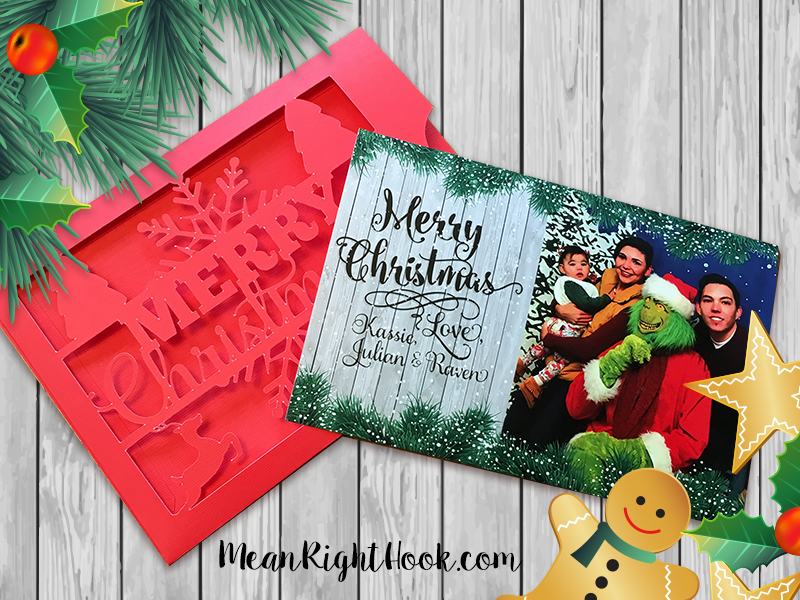 Christmas Card Sleeve | MeanRightHook.com