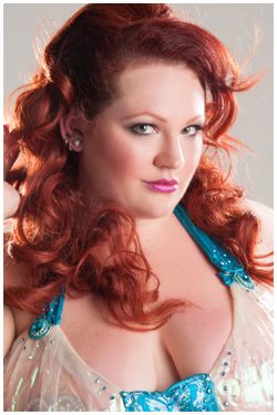 "Ginger Snaps  |  Sky Candy Studio  |  ""Retro Hair Styling with Ginger Snaps"""