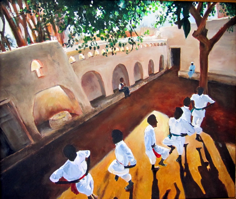 Dervishes Dancing. Style of Andrew Macara. By Emily Golightly