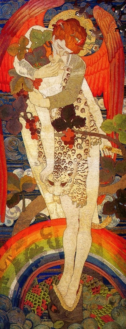 """The Victory"" by Phoebe Anna Traquair"