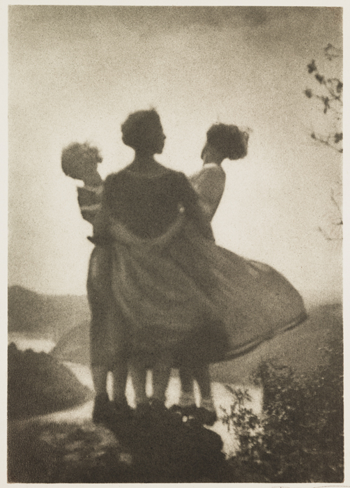 """""""Three Country Girls"""" by Rudolf Koppitz"""