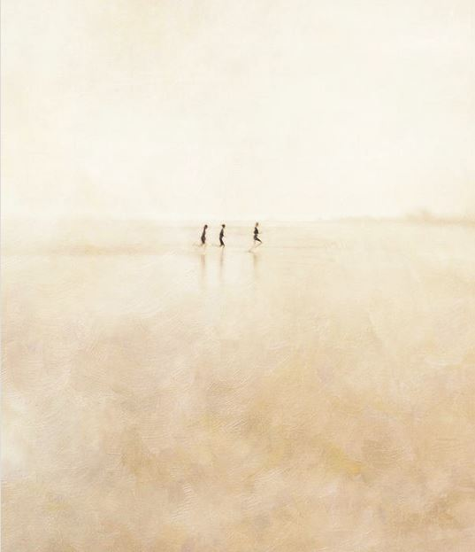 """""""Three Girls Running"""" by Paul Grand"""