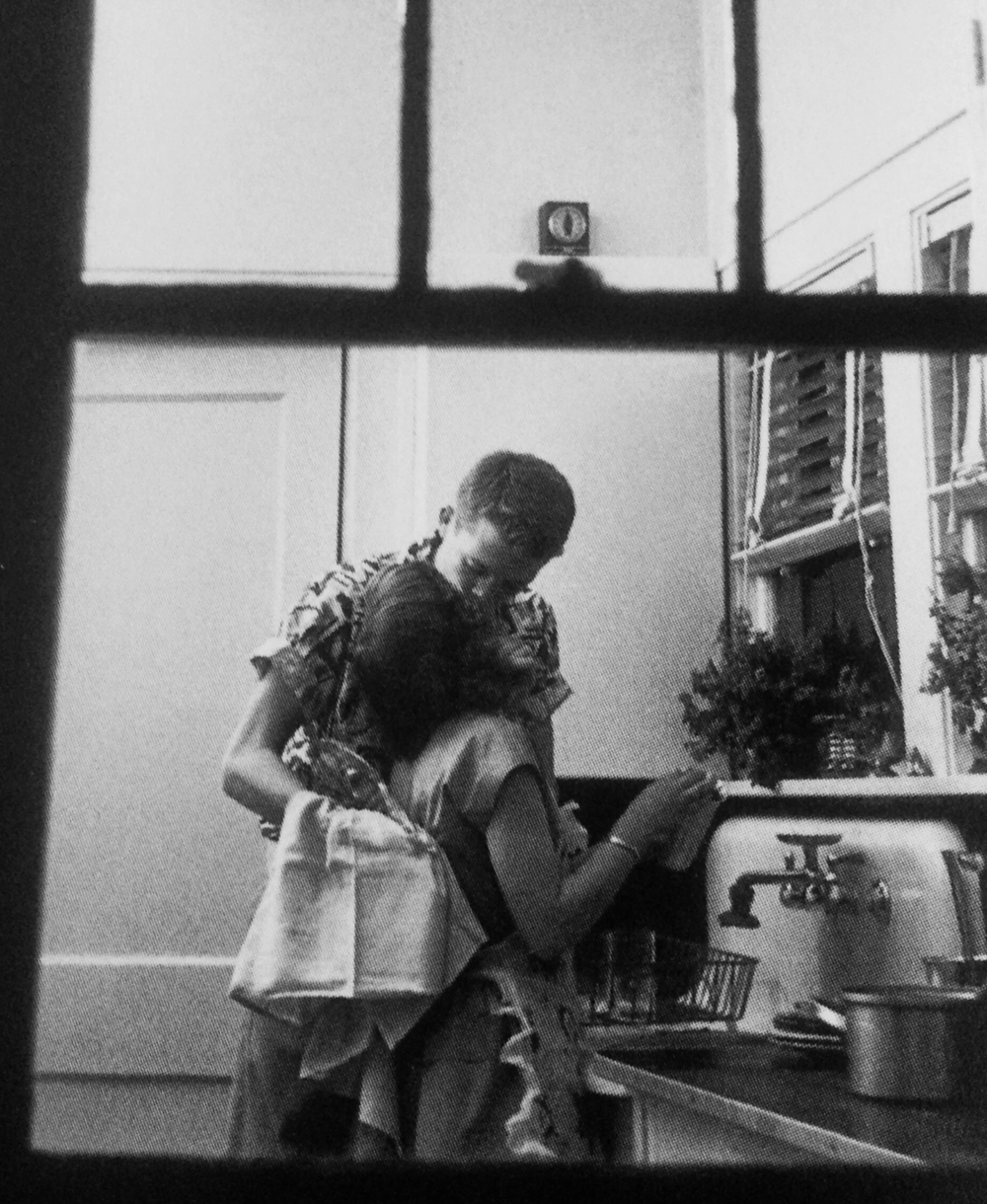 """Doing Dishes"" by Carl Iwasaki, 1954"