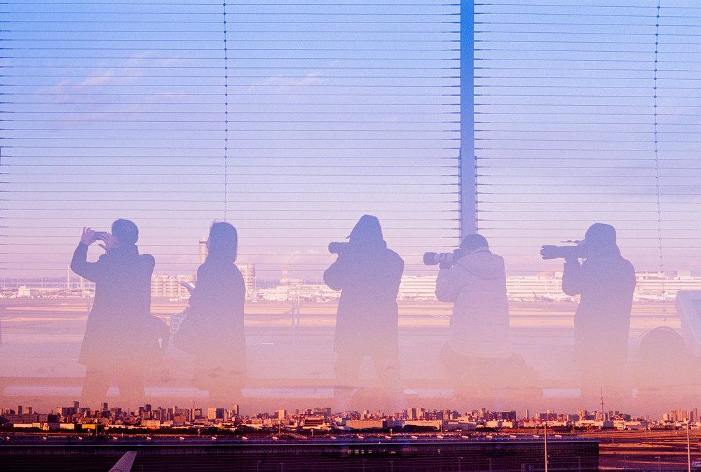 The Photographers // Haneda Airport, Japan