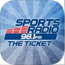 Listen live on air, online, or on the 98.1 The Ticket mobile app on Apple and Android Devices.