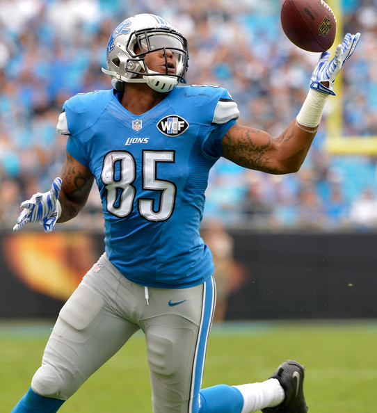 Detroit Lions TE Eric Ebron is a high-upside draft choice in fantasy football drafts, and TJ Wilson is a Lions homer.