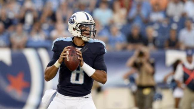 Marcus Mariota (QB-Ten) threw for 209 yards and four touchdowns in his NFL debut.