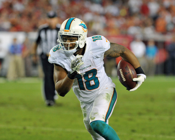 Rishard Matthrews, wide receiver for the Miami Dolphins, is a must-add in fantasy football leagues.