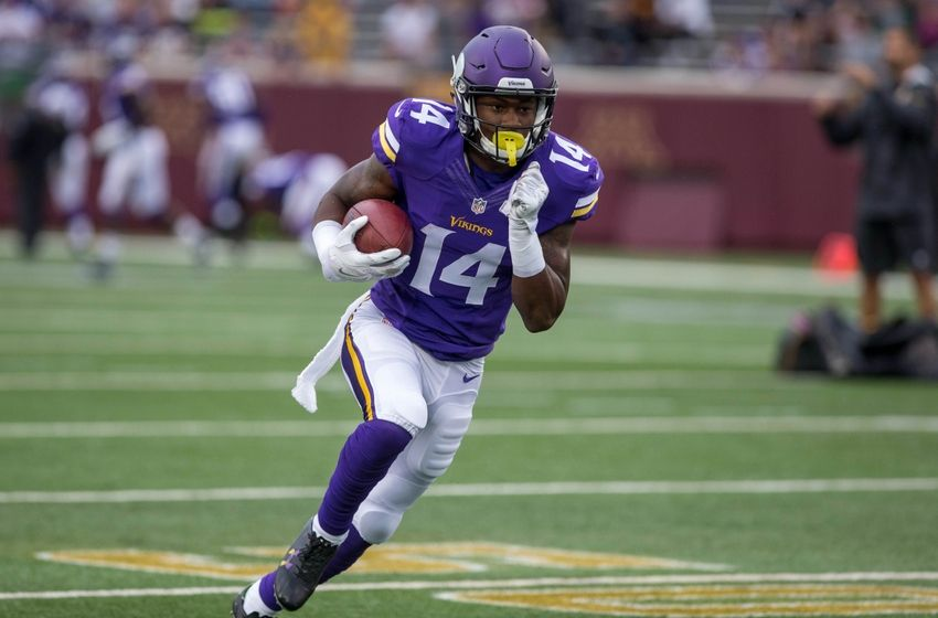 Stefon Diggs, Minnesota Vikings wide receiver, should be added in all fantasy football leagues.