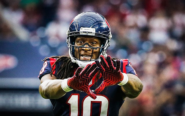 DeAndre Hopkins, Houston Texans WR, is the Fantasy News Hour's 3rd round pick in the 2015 Perfect Draft.