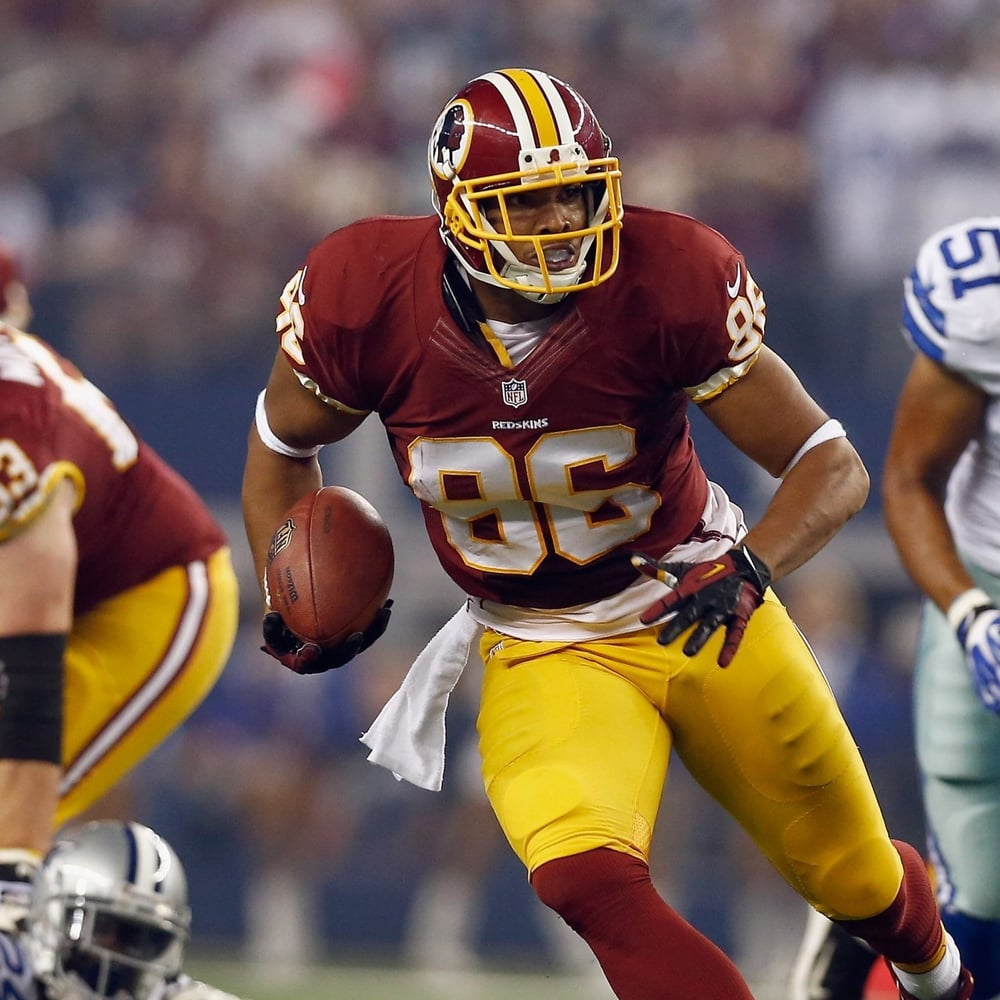 Jordan Reed, Washington Redskins TE, finished as the No. 2 fantasy football tight end.