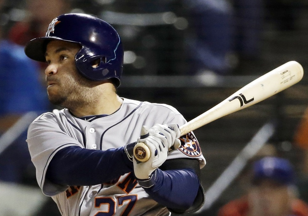 Jose Altuve, 2B-Hou, surprisingly fell to the second round in FNH's May 2016 fantasy baseball redraft.
