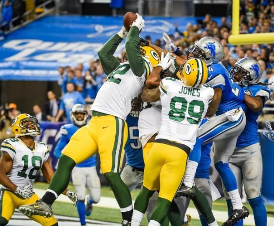 The Green Bay Packers-who regularly beat the Detroit Lions in dramatic fashion-are one of the few NFL teams who could have the best player in fantasy football at three different positions in 2016