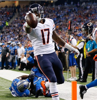 If healthy, Alshon Jeffery (WR-Chi) is a fantasy football stud.